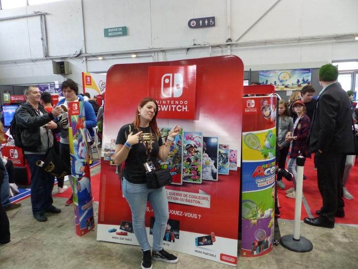 Seilin - En convention - stand Nintendo
